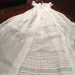 Christening robe -Rendle; donors great aunt; c.1865?; QWHA92-CR-017