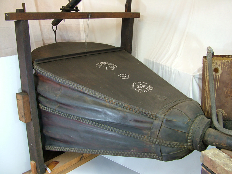 Large forge bellows.; Manufactured by William Alldays. Alldays & Onions,  Sole M... on eHive