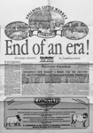 Lincoln Free Press - Spalding Cattle Market End of Era! 1938 - 1992; Local Paper; 1992; CBF L 004