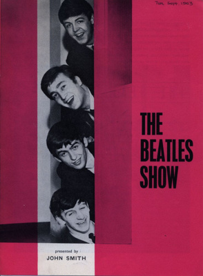 PROGRAMME THE BEATLES; SEP 1963; 196309BE