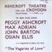 FLYER THE VAGARIES OF LOVE JOHN BARTONPESSY ASHCROFT; OCT 1963; 196310BN