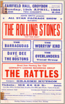 FLYER THE ROLLING STONES; APR 1964; 196404HL rolling stones flyer