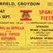 FLYER SPANISH FIESTA; SEP 1966; 196609BK