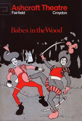 ASHCROFT PROGRAMME PANTO BABES IN THE WOOD MIKE AND; DEC 1974; 197412BI