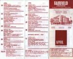 FAIRFIELD DIARY APRIL 1968; APR 1968; 196804BC