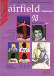 FAIRFIELD DIARY OCTOBER 1998 LILY SAVAGE, ELKIE BROOKS, JANE MCDONALD, THE STRANGLERS, JULIAN BREAM; OCT 1998; 199810BB