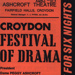 CROYDON FLYER FESTIVAL OF DRAMA; NOV 1970; 197011BB