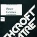PROGRAMME ASHCROFT THEATRE PETER GRIMES BENJAMIN BRITTEN; JUN 1984; 198406FC