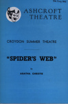 PROGRAMME ASHCROFT SPIDERS WEB AGATHA CHRISTIE; JUL 1963; 196307BG