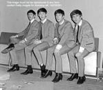 THE BEATLES AT FAIRFIELD HALLS, CROYDON, APRIL 25TH 1963; APR 1963; 144705375 backstage group Beatles 25th April 1963 Fairfield Halls Croydon
