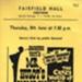 FLYER FILM JACQUES TATI MR HULOT'S HOLIDAY; JUL 1967; 196707BM