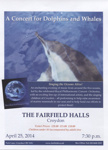 SINGING THE OCEANS ALIVE - FLYER; APR 2014; 201404NG