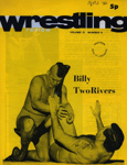 PROGRAMME WRESTLING PROGRAMME BILLY TWO RIVERS; APR 1974; 197404BE