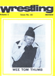 PROGRAMME SPORT WRESTLING  WEE TOM THUMB; OCT 1988; 198810FC