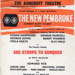 FLYER ASHCROFT THEATRE SHE STOOPS TO CONQUER SUSAN HAMPSHIRE; FEB 1966; 196602BI