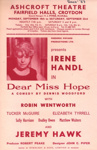 FLYER DEAR MISS HOPE IRENE HANDL; SEP 1967; 196709BE