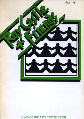 PROGRAMME ROY CASTLE AND FRIENDS; FEB 1978; 197802BE