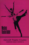PROGRAMME BALLET WESTERN THEATRE; DEC 1966; 196612BI