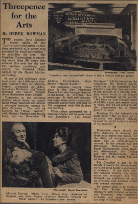 NEWSPAPER FAIRFIELD OPENING; NOV 1962; 196211CB