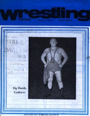 WRESTLING PROGRAMME BIG DADDY; MAR 1976; 197603BB