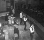PHOTO THE ROLLING STONES AT FAIRFIELD HALLS ON 12TH APRIL 1964; APR 1964; 196404LR ROLLING STONES AT FAIRFIELD HALLS CROYDON