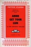 PROGRAMME CROYDON STAGERS ANNIE GET YOUR GUN; DEC 1963; 196312BC
