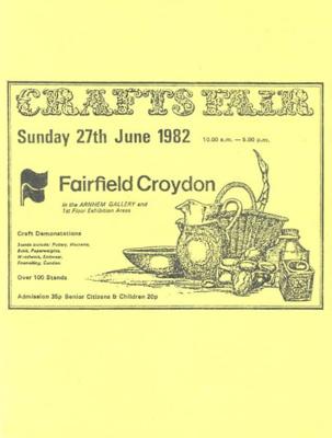 FLYER CRAFTS FAIR; JUN 1982; 198206FC