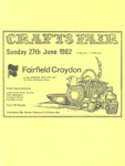 FLYER CRAFTS FAIR; JUN 1982; 198206FC