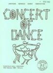PROGRAMME CROYDON SCHOOLS DANCE ASSOCIATIONS; FEB 1980; 198002FC