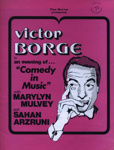 PROGRAMME VICTOR BORGE; Jul 1972; 197207BE