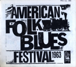 PROGRAMME AMERICAN NEGRO BLUES FESTIVAL MUDDY WATERS MEMPHIS SLIM SONNY BOY WILLIAMSON MATT GUITAR MURPHY; OCT 1963; 196310BK