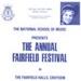 PROGRAMME NATIONAL SCHOOL OF MUSIC FAIRFIELD FESTIVAL; AUG 1986; 198608FA