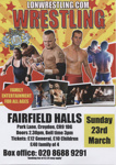 LDN WRESTLING - LEAFLET ; MAR 2014; 201403NJ