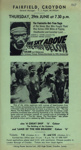 FLYER FILM THE SKY ABOVE THE MUD BELOW; JUN 1967; 196706BO