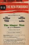 FLYER ASHCROFT THEATRE THE GINGER MAN J P DONLEAVY SUSAN HAMPSHIRE NICOL WILLIAMSON; NOV 1963; 196311BC