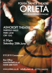 ORLETA POLISH DANCE THEATRE - FLYER; JUN 2014; 201406NB