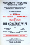 FLYER ASHCROFT THE CONSTANT WIFE SOMERSET MAUGHAM; FEB 1967; 196702BE