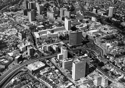 PHOTO CROYDON AERIAL VIEW; JUN 1970; 197006FG