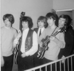 PHOTO THE ROLLING STONES AT FAIRFIELD HALLS ON 12TH APRIL 1964; APR 1964; 196404HJ ROLLING STONES PHOTO BACKSTAGE