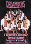 THE DREAMBOYS - LEAFLET; DEC 2013; 201312ND