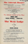 FLYER ASHCROFT THE WEST LODGE R J ATKINS; MAR 1963; 196303BG
