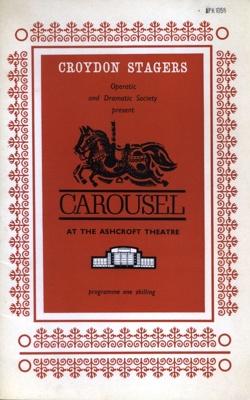 PROGRAMME CROYDON STAGERS CAROUSEL; APR 1966; 196604BI