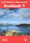 PROGRAMME SCOTLAND 79 DAVID WEBSTER; NOV 1979; 197911FC