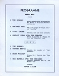 PROGRAMME BIG POP SHOW BERT WEEDON JOHNNY KIDD AND THE PIRATES BEE BUMBLE AND THE STINGERS; NOV 1962; 196211CX