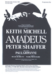 PROGRAMME THEATRE KEITH MICHELL; OCT 1983; 198310FG
