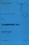 PROGRAMME GYMNASTICS CLUB; OCT 1969; 196910BB