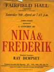 FLYER NINA AND FREDERIK; APR 1966; 196604BK