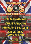 THE SENSATIONAL SIXTIES EXPERIENCE - LEAFLET; NOV 2013; 201311NG