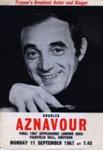 FLYER CHARLES AZNAVOUR; SEP 1967; 196709BQ