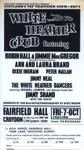 FLYER THE WHITE HEATHER CLUB SCOTLAND JIMMY SHAND; OCT 1966; 196610BU